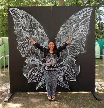 Cambridge Folk Festival - Butterfly