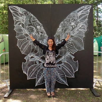 Cambridge Folk Festival - Butterfly