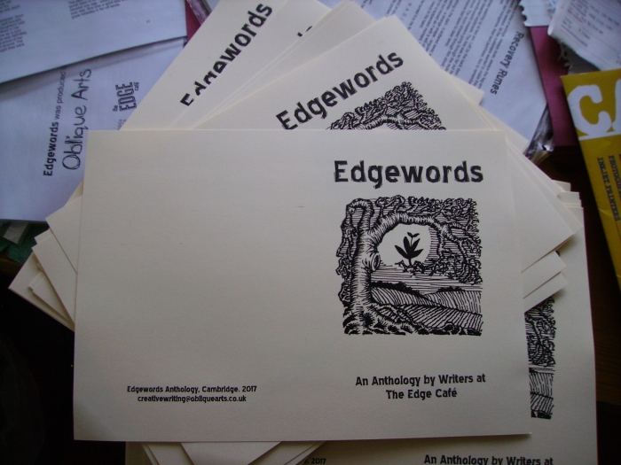 Printing Edgewords chapbook (4)