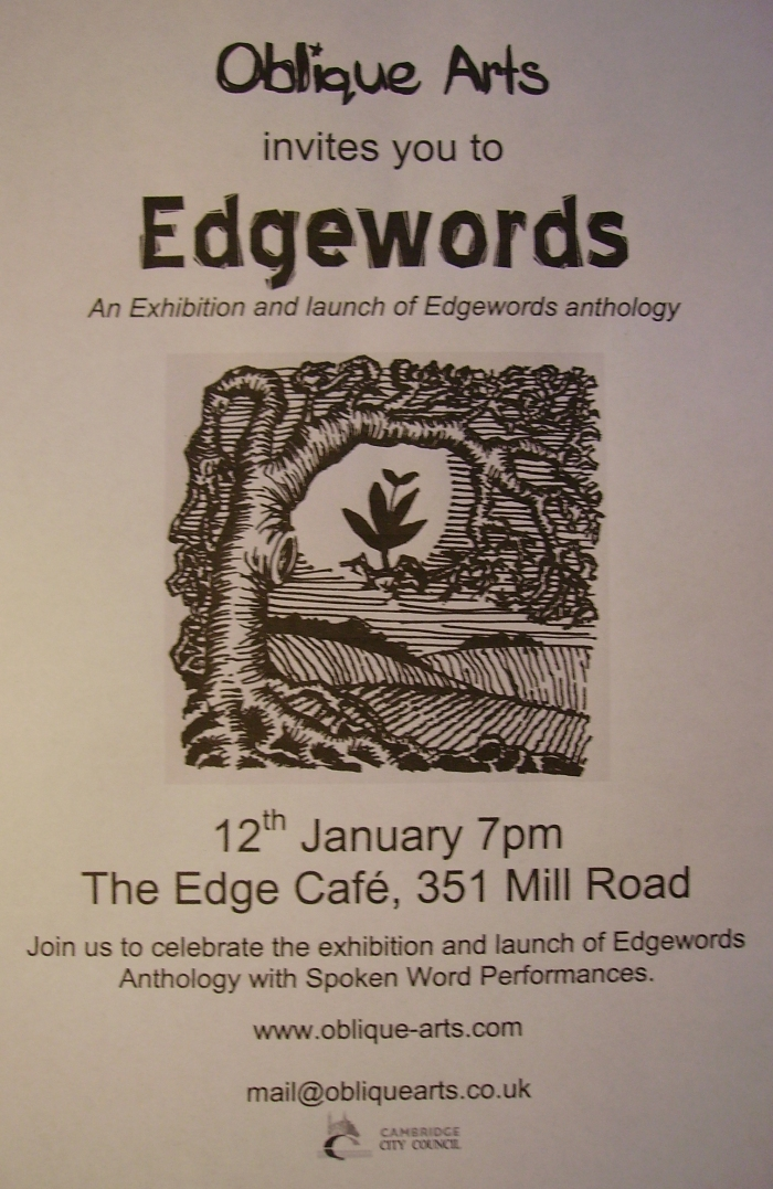 Edgewords Launch and Exhibition 12th January 2018